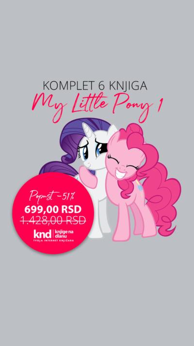 Moj Mali Poni 1 My Little Pony 1 6knjiga Akcija Knd