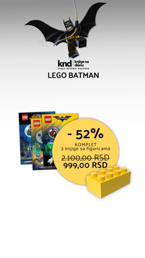 Lego Batman Akcija Tri Knjige Ig Story