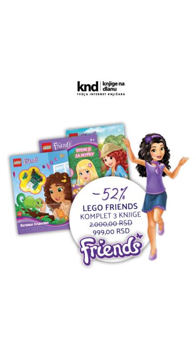 Lego Friends Komplet 3 Knjige Sa Figuricama Ig Story