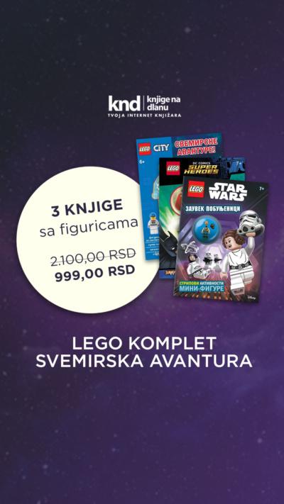 Lego Komplet Svemirska Avantura – 3 Knjige Sa Figuricama Za 999 Ig Story
