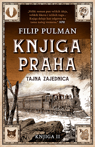 Druga Knjiga Praha Tajna Zajednica Filip Pulman V