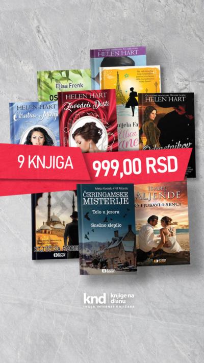 Ig Story 9 Knjiga Za 999 Dinara Maj Akcija (1)