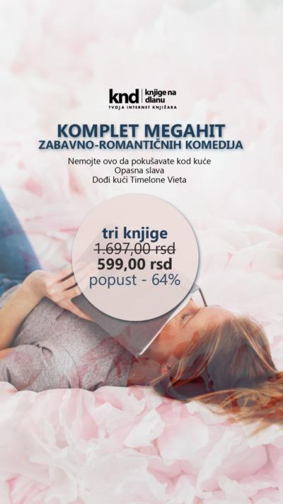 Komplet Megahit Zabavno RomantiČnih Komedija Ig Story