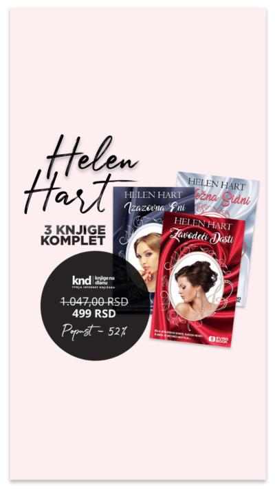 Helen Hart Komple 3 Knjige Akcija Ig Story