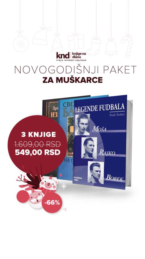 Novogodišnji Paket Za Muškarce 3 Knjige Za 549 Dinara Ig Story