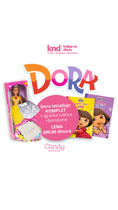 Dora Istražuje Komplet + Poklon Lutka + Poklon Bombone Ig Story