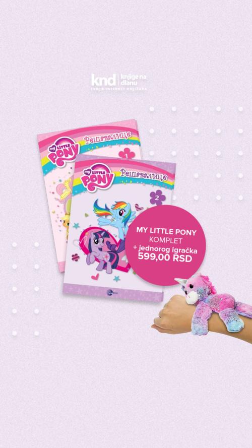 My Little Pony Komplet + Poklon Jednorog Narukvicaig Story