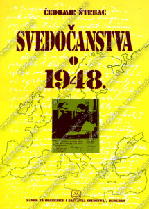 SVEDOČANSTVA O 1948.