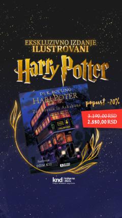 Hari Poter i zatvorenik iz Askabana – ilustrovano