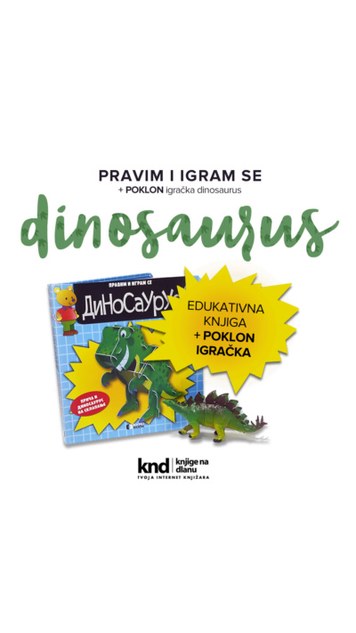 Ig Story 1080x1920 Edukativna Knjiga Dinosaurus + Poklon