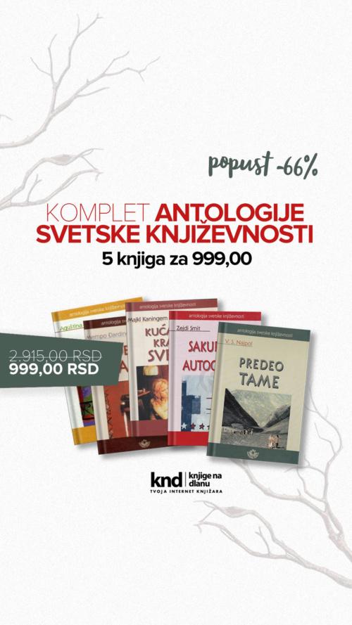 Ig Story 1080x1920 Komplet Antologije Svetske Književnosti 5 Knjiga Za 999