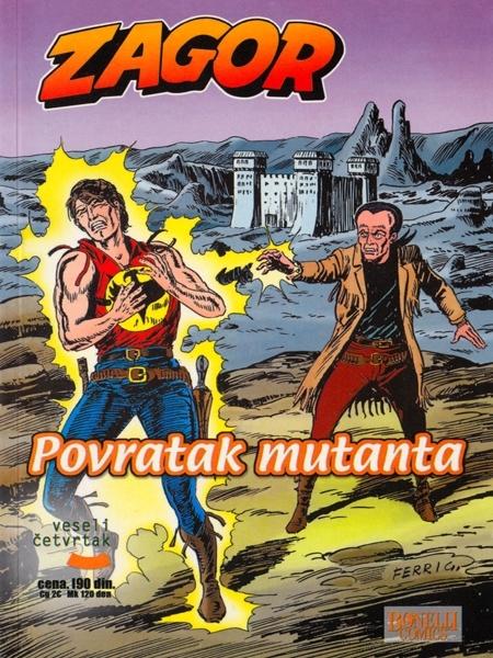 Zagor Povratak Mutanata