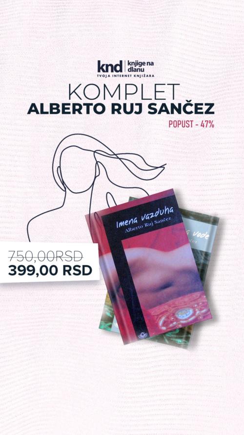 Komplet Alberto Ruj Sančez 2 Knjige Za 399 Ig Story