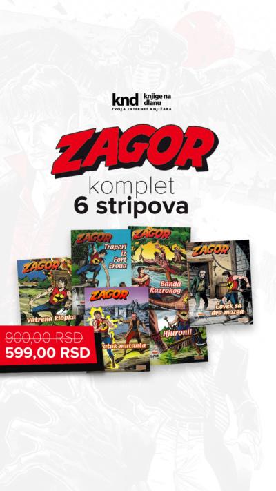 Zagor 6 Stripova 599 Ig Story