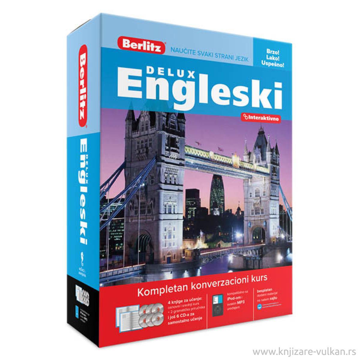 BERLITZ: DELUX ENGLESKI